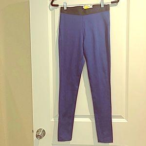 NWT Nike navy blue dri-fit workout legging medium